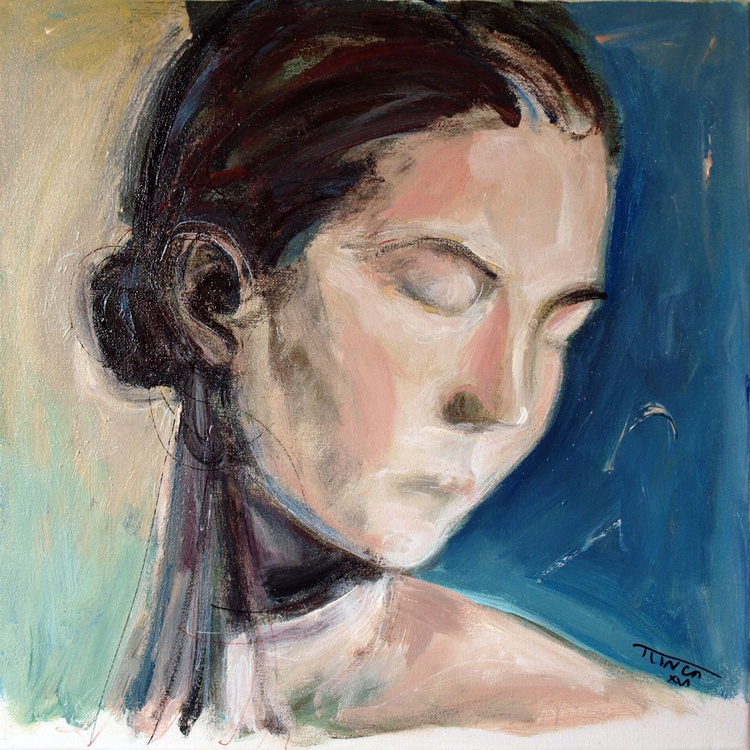 head of a woman (study) - Image 0