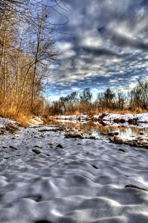 Boise River, Winter - Image 0