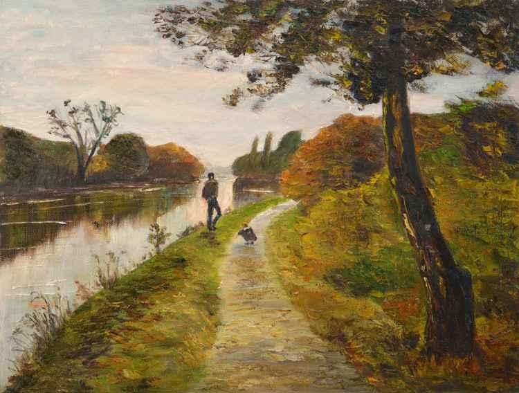 Path along the Seine -