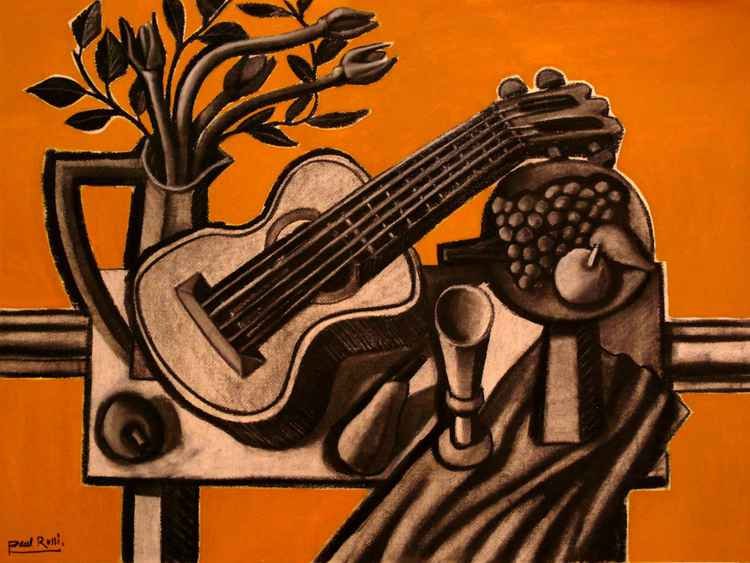Still-Life With Guitar II -