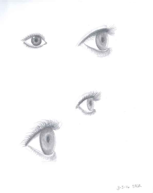 0023 Eyes 03 Drawing -