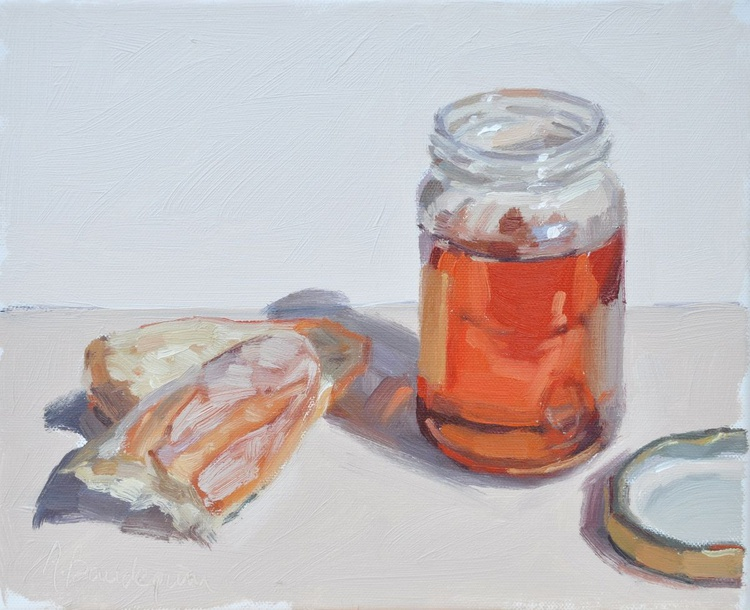 Garrigue Honey with bread - Image 0
