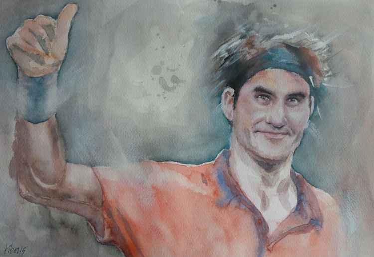 Roger Federer - Portrait 4