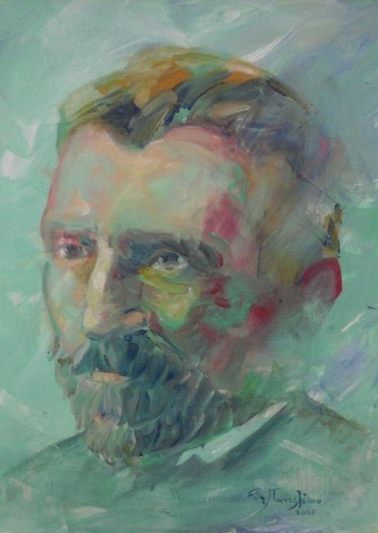 Portrait: Vincent van Gogh(1881-1973) - Image 0
