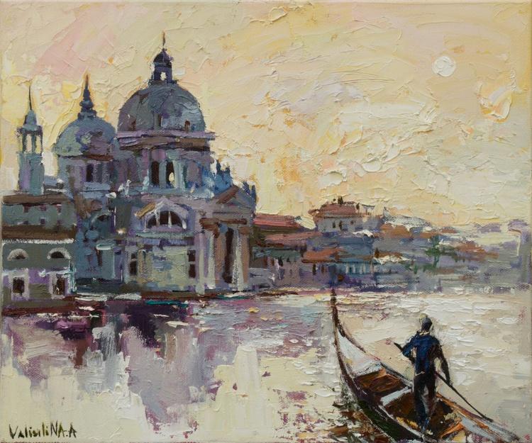 Santa Maria della Salute on the Grand Canal in Venice, Italy - Image 0