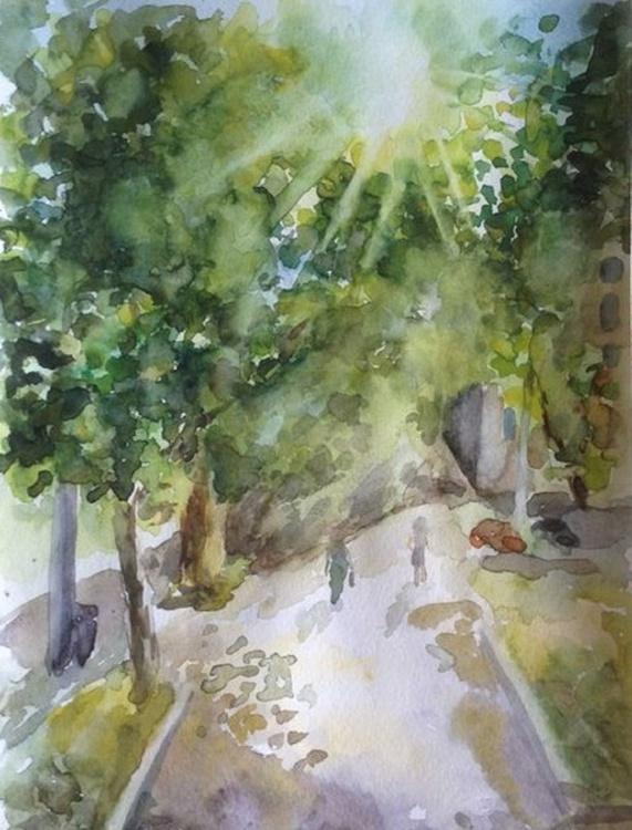 Sunshine street. etude 4 - Image 0