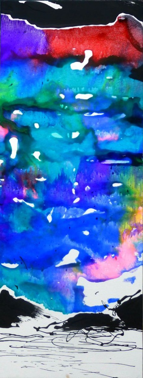 Abstract Landscape, 30x80 cm - Image 0
