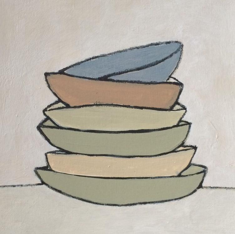 Stacked Bowls - Image 0