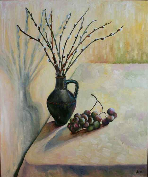 Still life with jug -