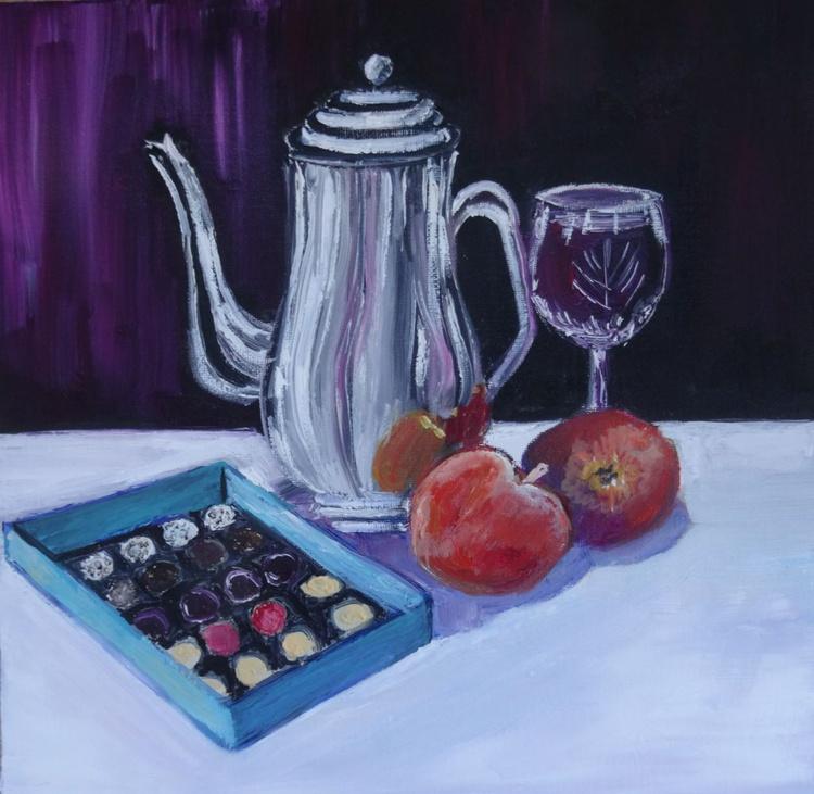 Wine, Coffee and Chocolates - Image 0