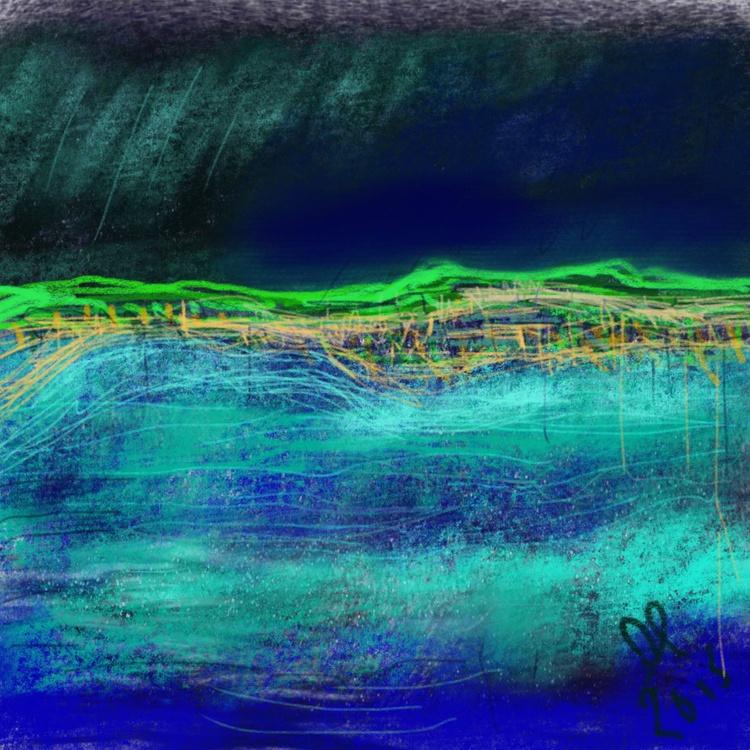 Kerrera broken sea - Image 0
