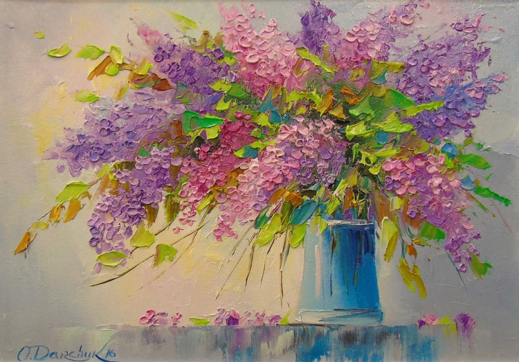 A bouquet of lilacs - Image 0