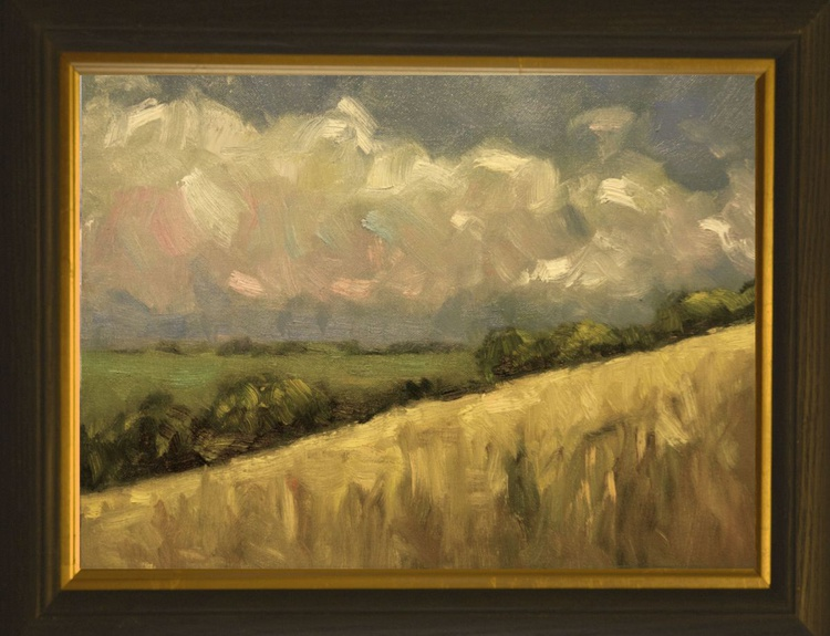 Yellow Field at Wepham - Image 0