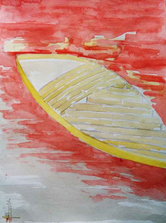 Abstract Boat -