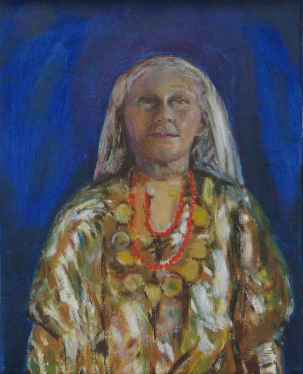 Woman in a Kaftan