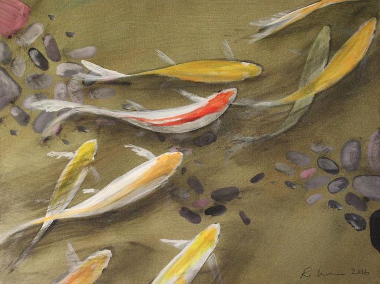 Pond Fish Subtle Gold III - Image 0