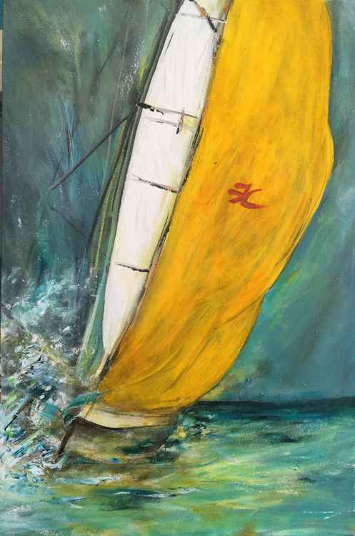 """""""Hobie Cat Sail"""""""