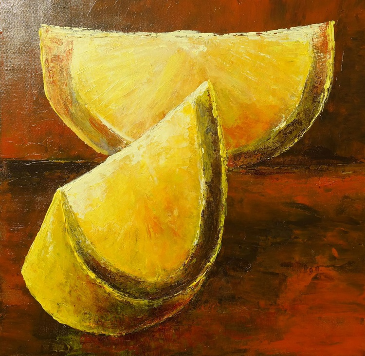 Slices of one Lemon - Image 0