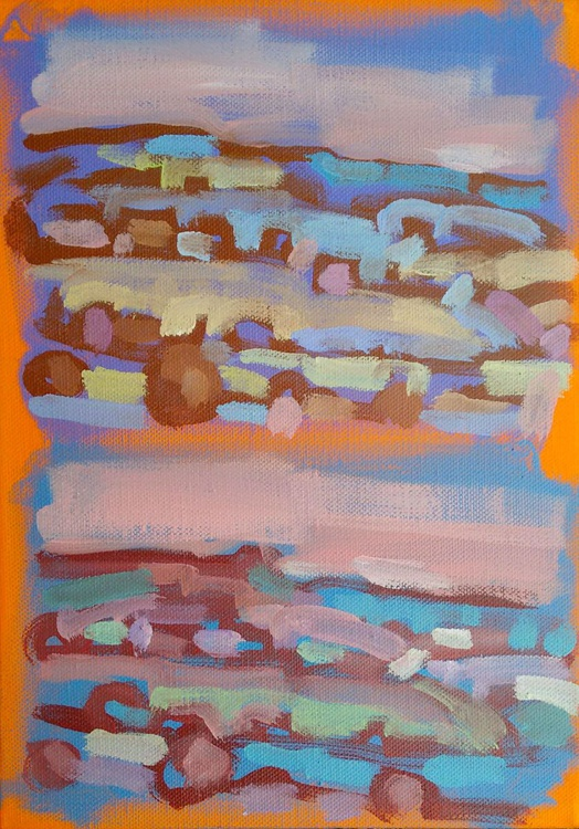 Evening Landscape study 2, 2015 - Image 0