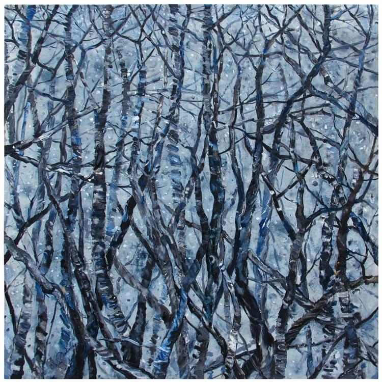 First Snow (150x150cm) - Image 0