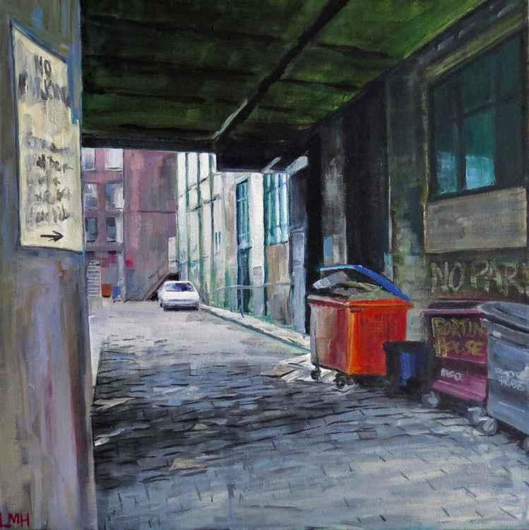 Cobbled Backstreet -