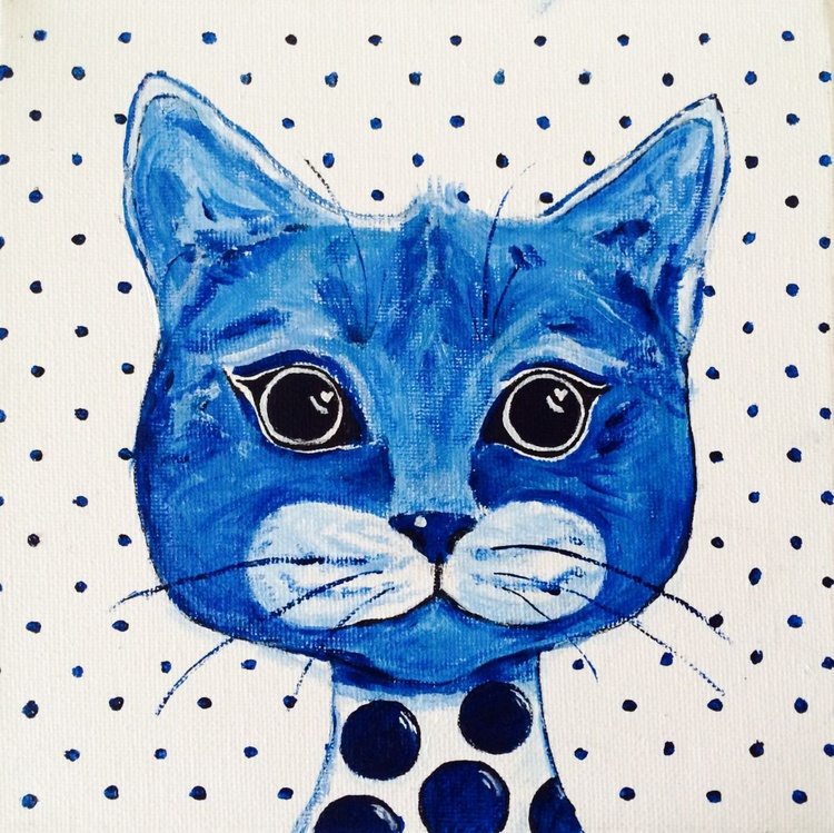 POLKA DOT HIM CAT - Image 0