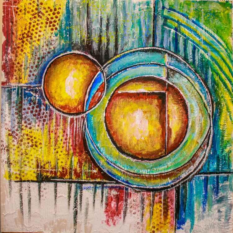 Abstract circles No 3 -