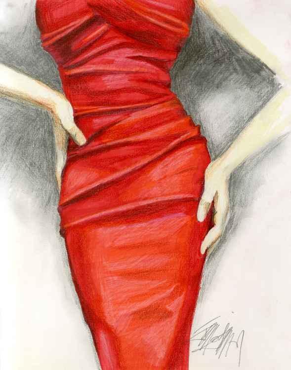 Red Dress -