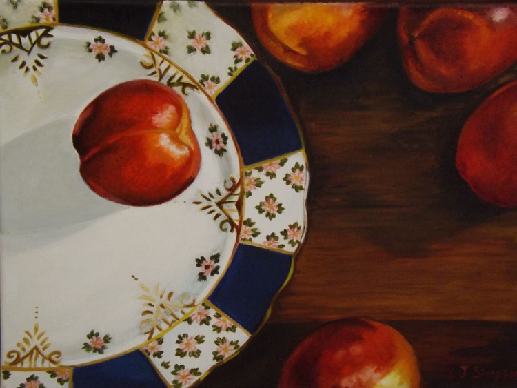 Five Nectarines - Image 0