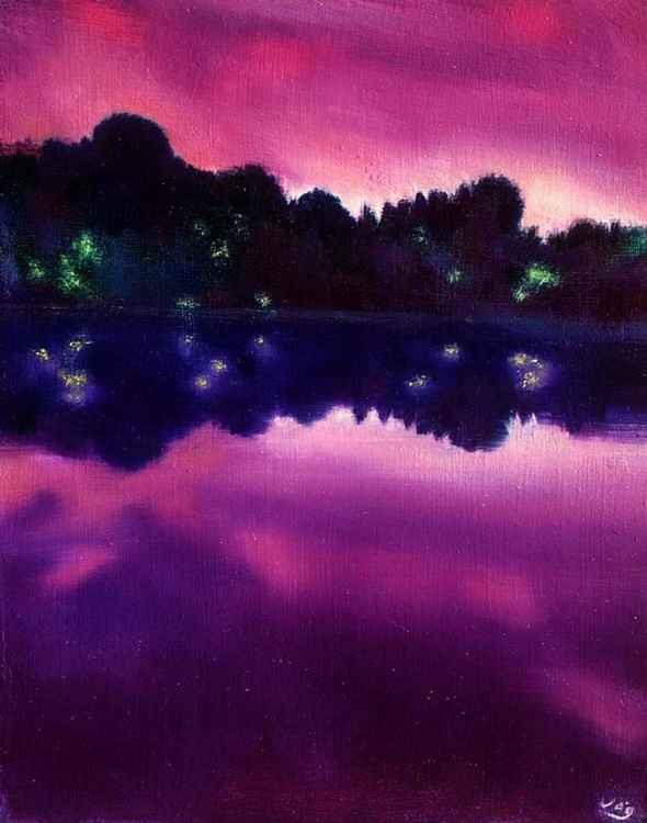 Gloria Lake at Twilight -