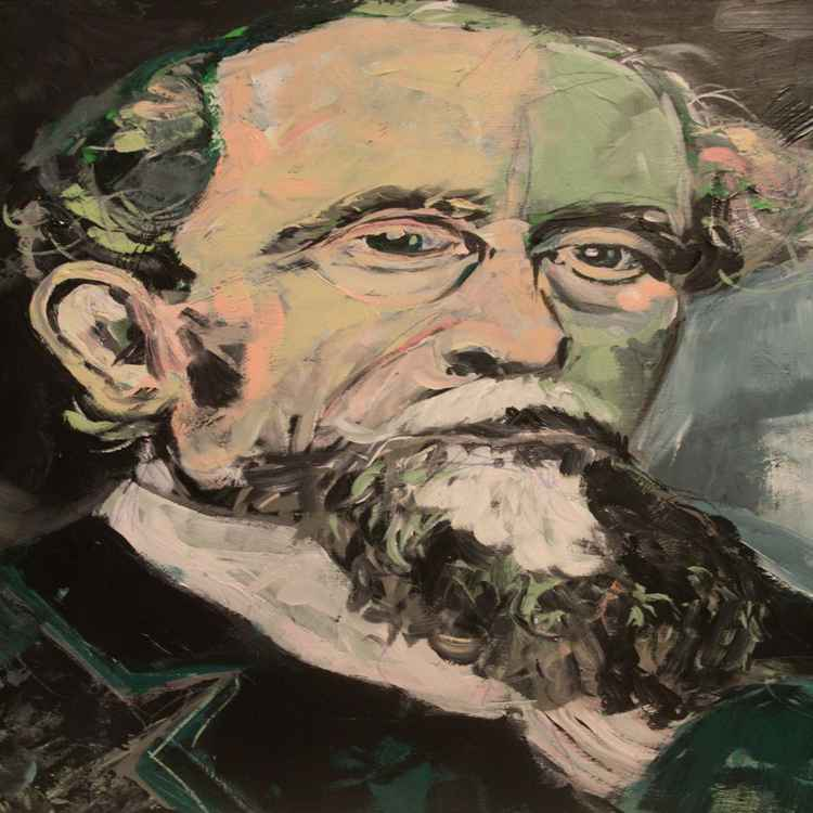 Icon - Charles Dickens -