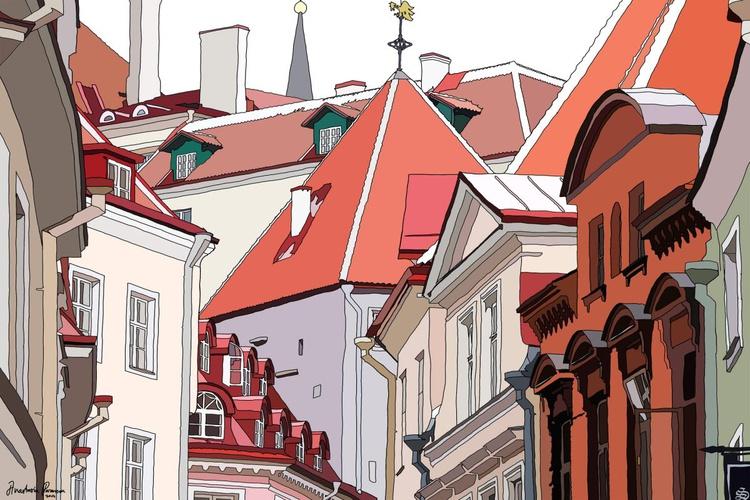Roofs of Tallinn - Image 0