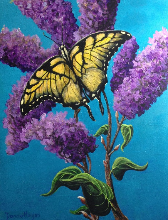 Swallowtail on Lilacs - Image 0
