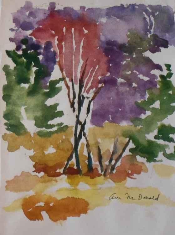 Slender Dancing Trees -