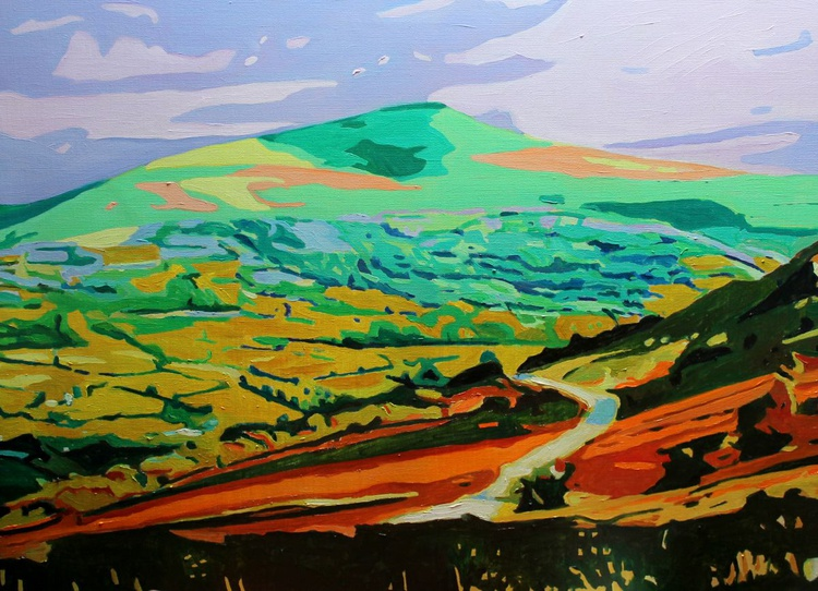 Country Lane in the Beacons - Image 0