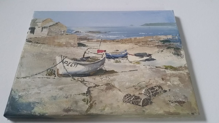 Beached Boats at Sennen Cove - Image 0