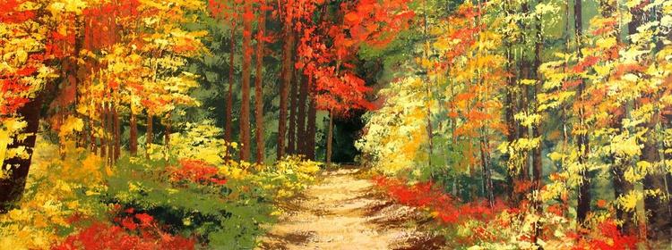 Entre hojas de colores - Image 0