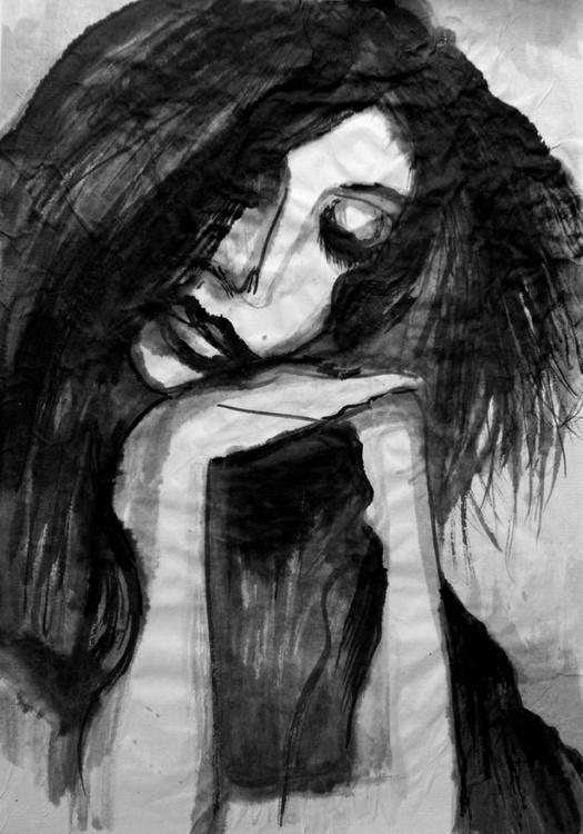 Woman Falling Asleep - Image 0