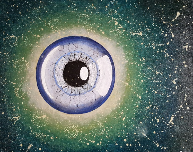 """""""The Eye of the Moon"""" - 50x40cm - Image 0"""