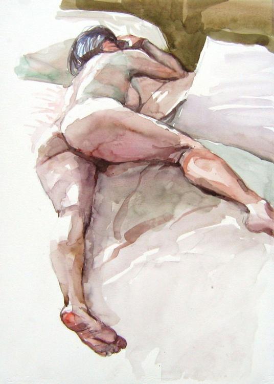 backview ,nude lying pose II - Image 0