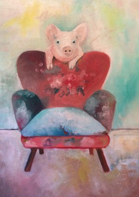 Pig Over Easy by Jennifer Buerkle