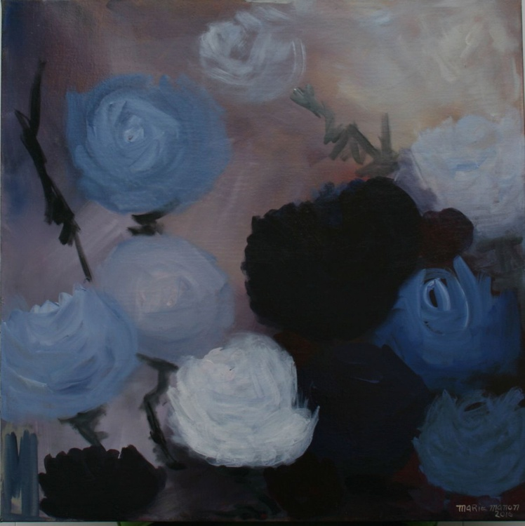 Mom's Garden 3 - Beautiful Roses for you! 30x30x1.5 Abstract Flowers - Image 0