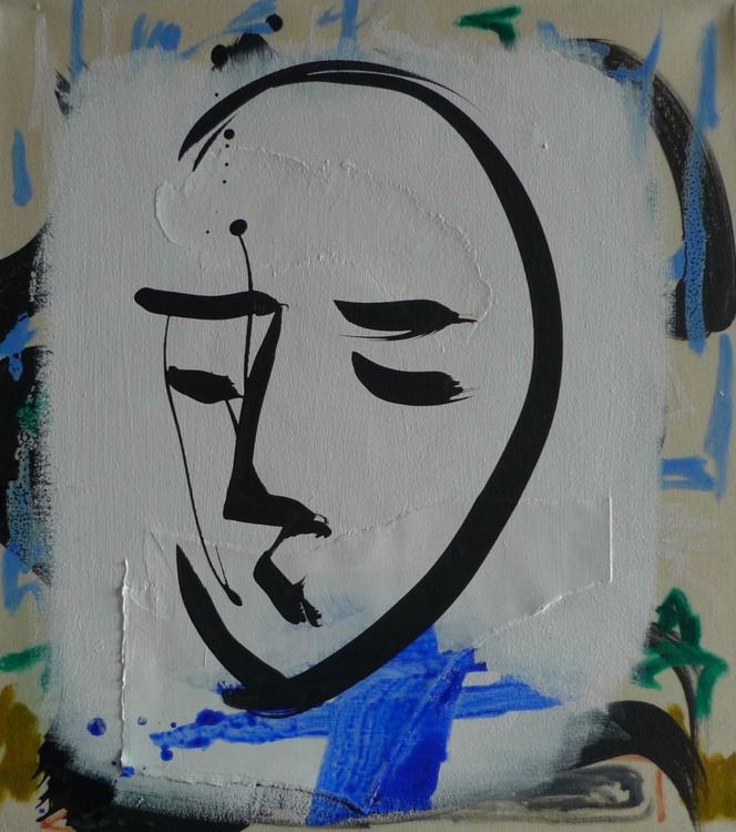 Large Urban Face No. 2 - Image 0
