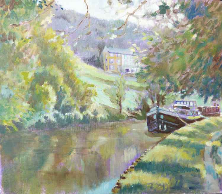 Canal at Farnhill -