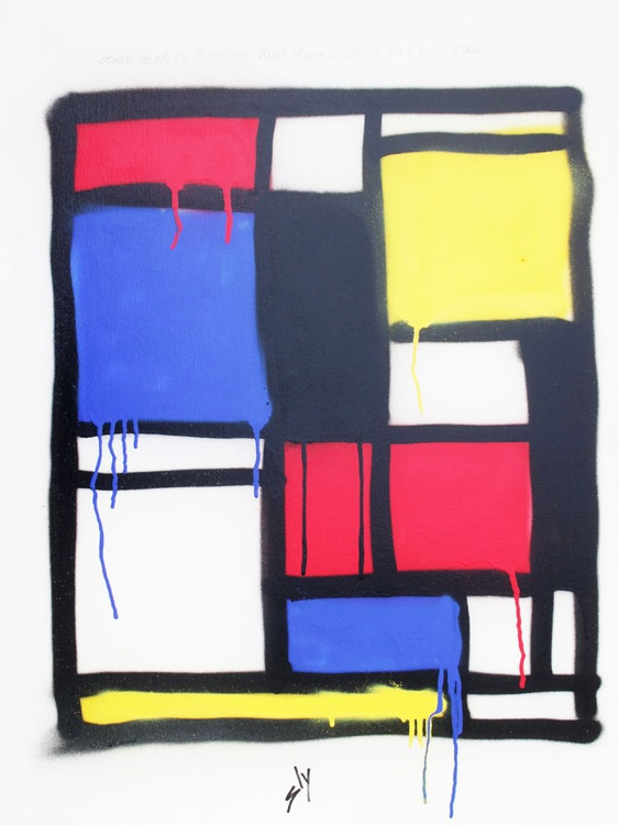 Other People's Paintings only Much Cheaper: No3 Mondrian (On Chunky Canvas)(EXPORT Edition) - Image 0