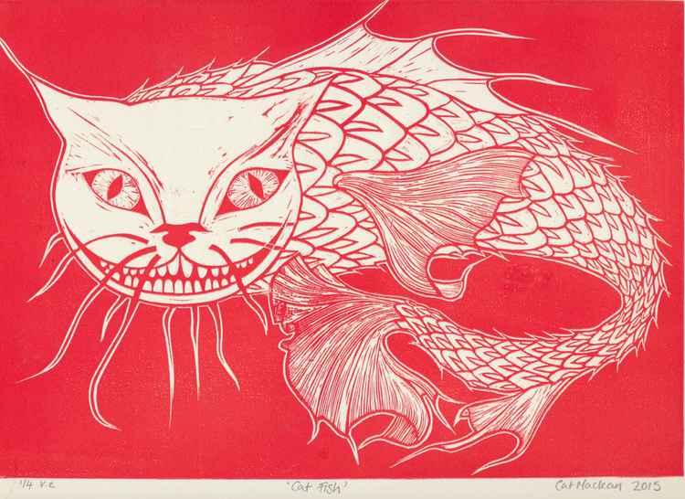 Cat Fish (red) -