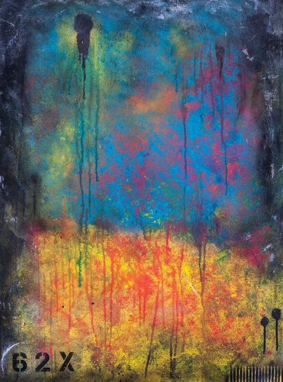 62X Abstract Painting - Image 0