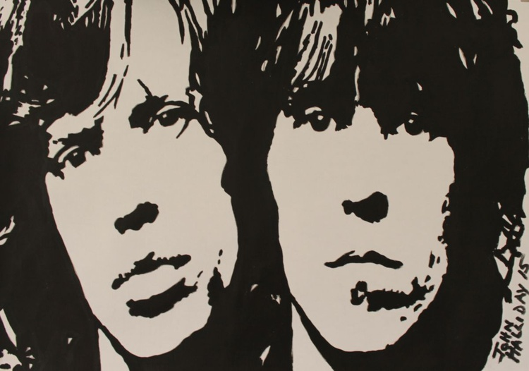 Mick and Keith, Rolling Stones. - Image 0
