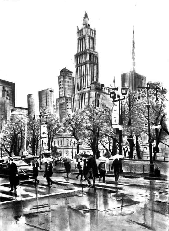 NY streets -