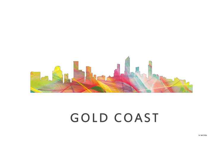 Gold Coast Queensland Australia Skyline WB1